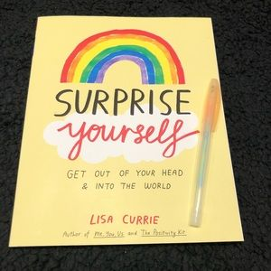 Surprise Yourself Book with gel pen